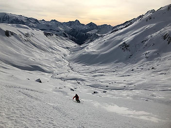 Free rando Alpe d'Huez - Oli Sebbar