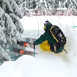 ski hors pistes alpe d'huez - off piste ski guiding