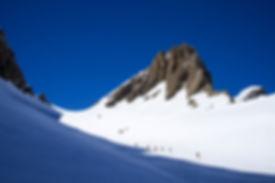découvrir le ski de rando alpe d'huez - alpe d'huez discovering ski touring