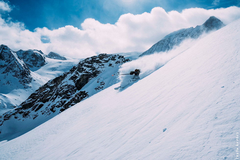 Oli Sebbar - freeride - Alpe d'Huez