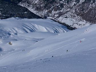 ski de randonnée alpe d'huez - ski touring alpe d'huez