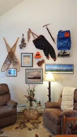 climbing wall recliners