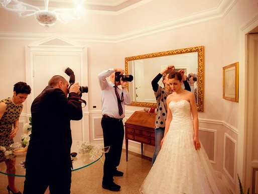 Attrezzatura fotografo matrimonio: 7 cose da non dimenticare mai