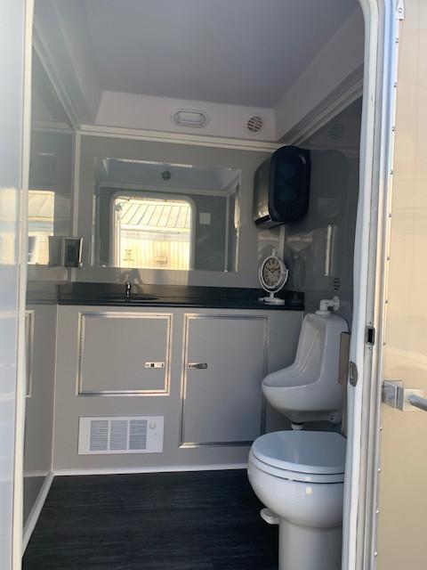 Luxury 2 Stall Restroom Rental