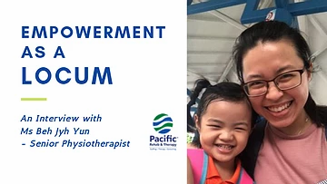 Ms. Beh: Finding Tranquility & Empowerment as a Locum