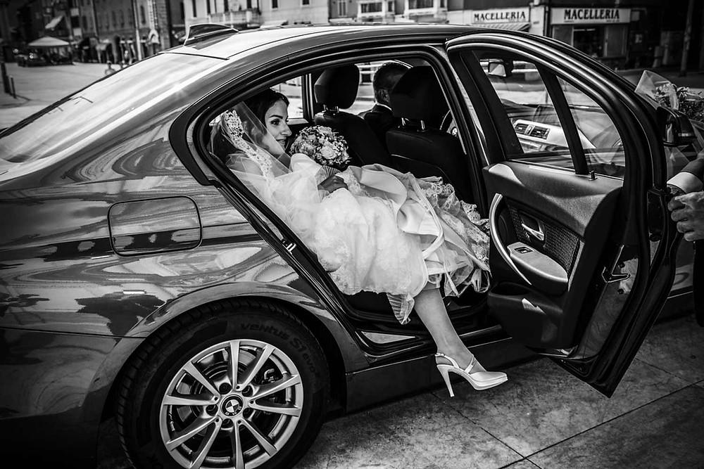 Un po 'di logistica: pianificare il giorno del matrimonio