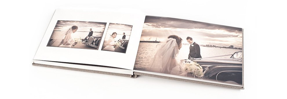Fotografia di matrimonio: perché scegliere l'album online?