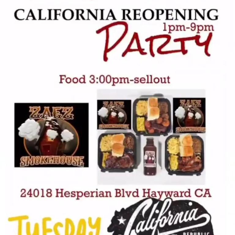 California Reopening