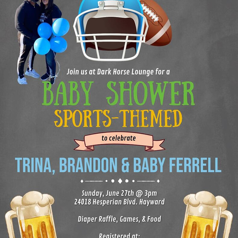 Baby Shower Sports- Themed