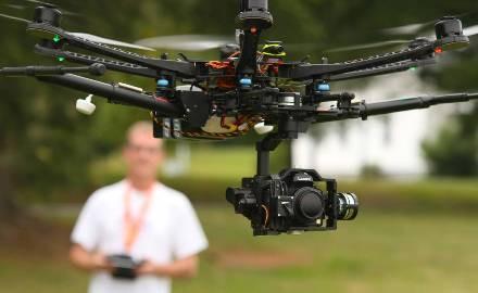 Riprese dal cielo: I droni nella fotografia di matrimonio