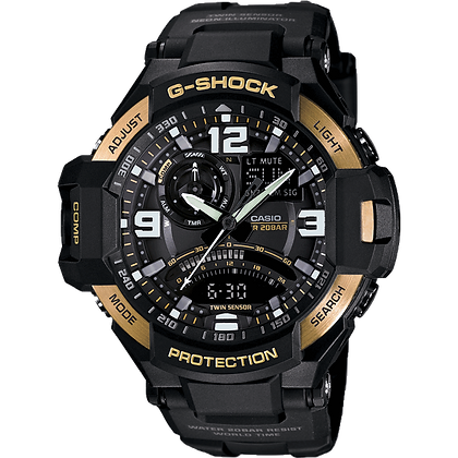 Black and Gold G-Shock Air