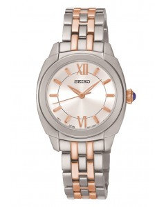 Stainless Steel Two-tone Seiko Watch