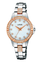 Two-tone Silver and Rose Gold Lorus Watch