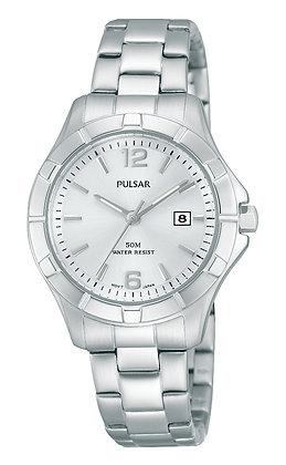 Stainless Steel Pulsar Watch