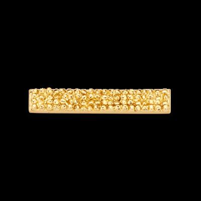 Rock Gold Toned Bar