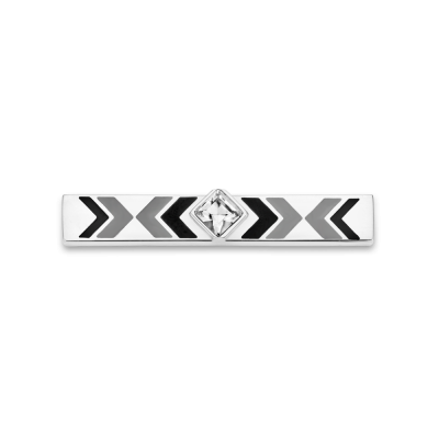 Gypset Black and Silver Toned Bar