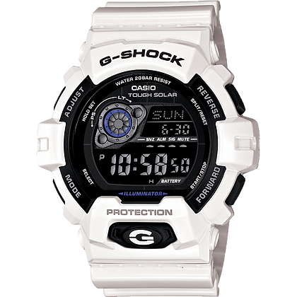 White G-Shock Casio Watch