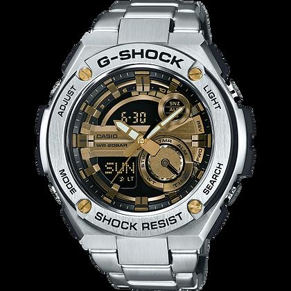 Silver G-Steel Watch