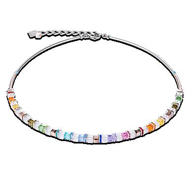 GeoCube necklace Multicolour