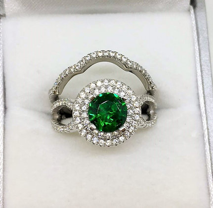 Sterling Silver Ring Set