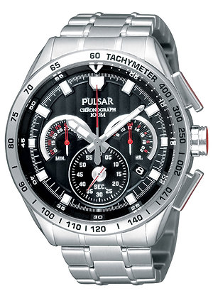 Silver Pulsar Watch From WRC Collection