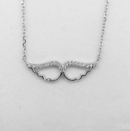 S/Silver Angel Wing Pendant