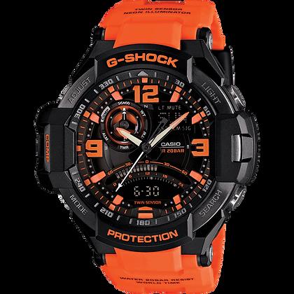 Orange G-Shock Air Watch