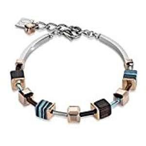 Swarovski crystal & Malchite Bracelet