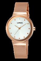 Rose Gold Mesh Bracelet Lorus Watch