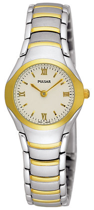Gold and Silver Two-tone Pulsar Watch