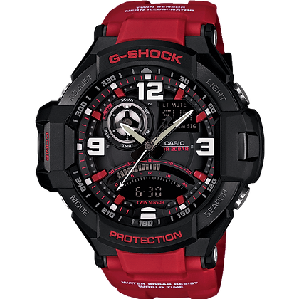 Red G-Shock Watch