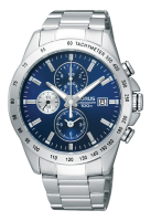 Stainless SteeL Chronograph Lorus Watch