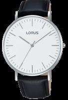 Black Leather Dress Strap Lorus Watch