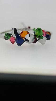Coloured Coeur De Lion Bracelet