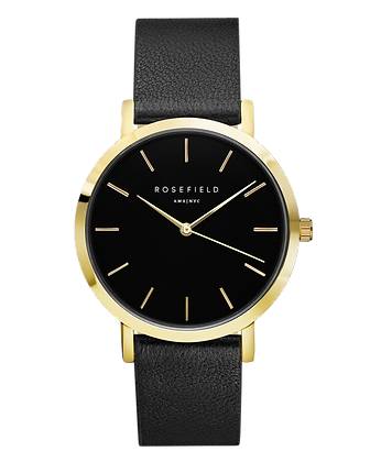 Black Gramercy Rosefield Watch