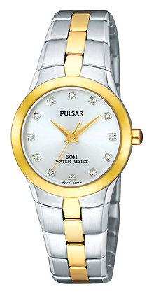 Two-tone Silver and Gold Lorus Watch