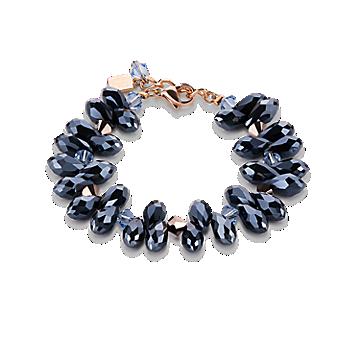 Cut Glass & Swarovski® Crystals Anthracite