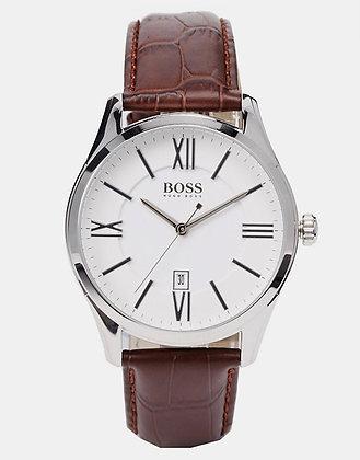 Hugo Boss Ambassador Men's Watch Brown Leather