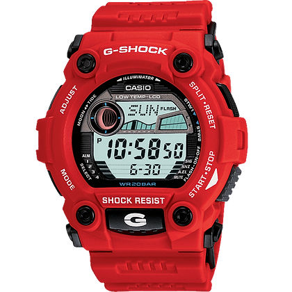 Red G-Shock Classic Casio Watch