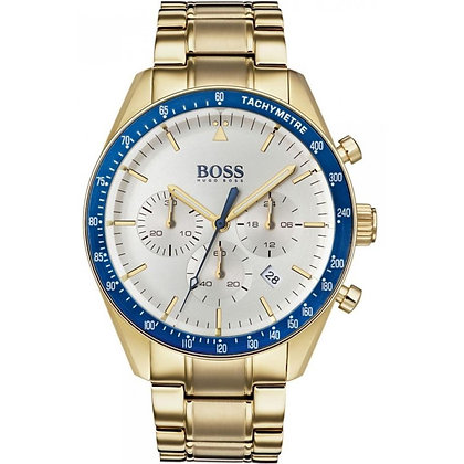 men's Gold Plated Chronograph Trophy Watch