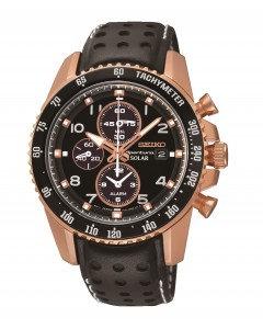 Black Seiko Sportura Watch
