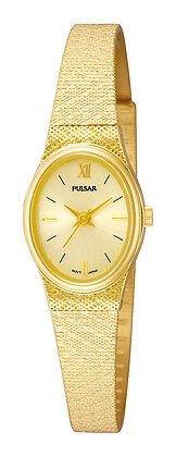 Gold Coloured Pulsar Watch