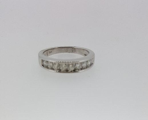 14ct White Gold Wedding Rings