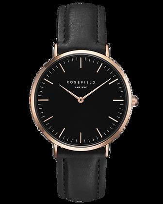 Black Bowery Rosefield Watch