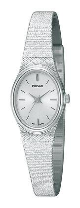 Silver Stainless Steel Pulsar Bracelet Watch