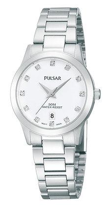 Silver Pulsar Watch