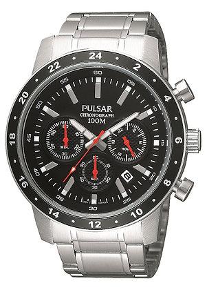 Silver Sports Pulsar Watch