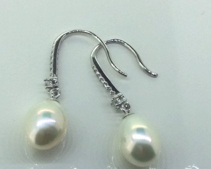 Helen Cui Pearl Earrings
