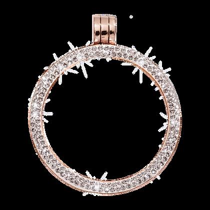 Rose Gold Plated Swarovski Pendant