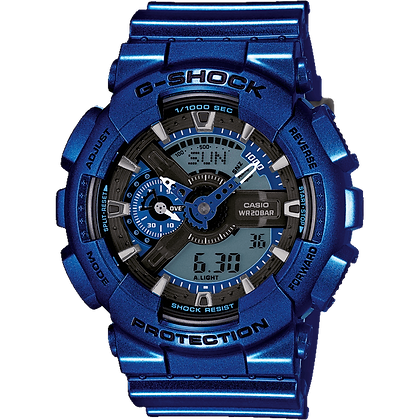 Blue Casio Watch